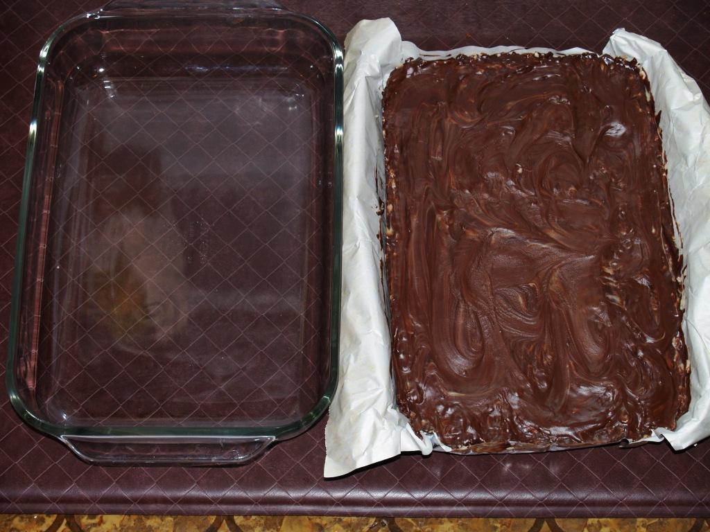 Rockin' Crème de Menthe Brownies